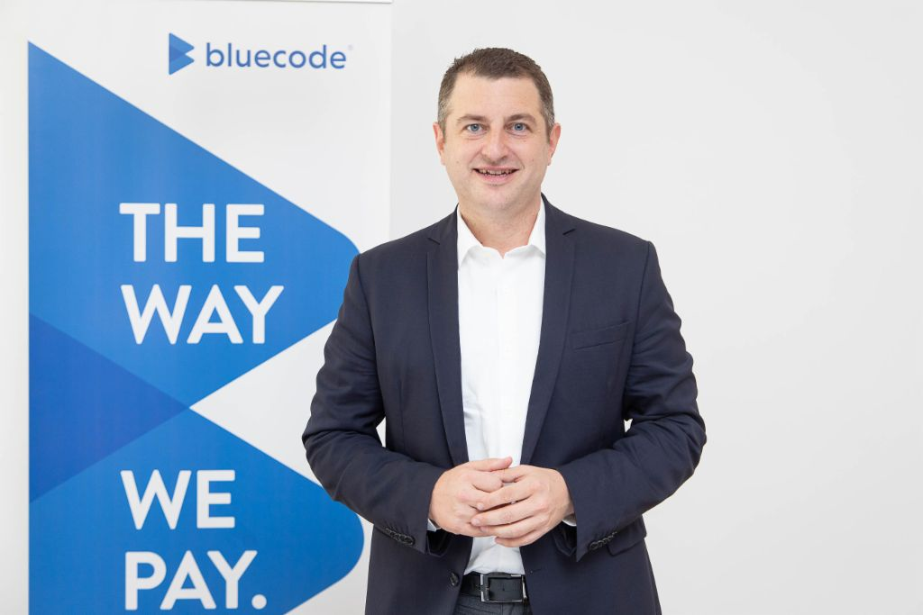Mobile payment: Christian Pirkner is the CEO of Blue Code.